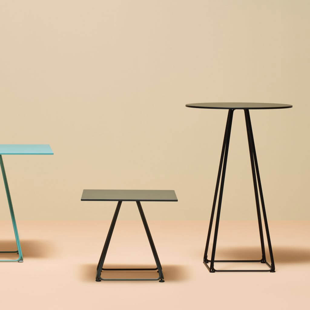 Pedrali Lunar Table Base Standing Business Interiors - Standing cafe table