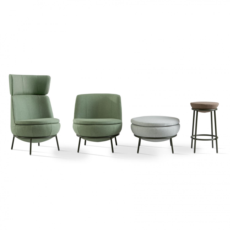 Pod Easy Chair by Jonas Ihreborn