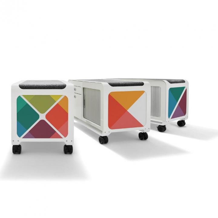 Mobile Pedestals and Caddies