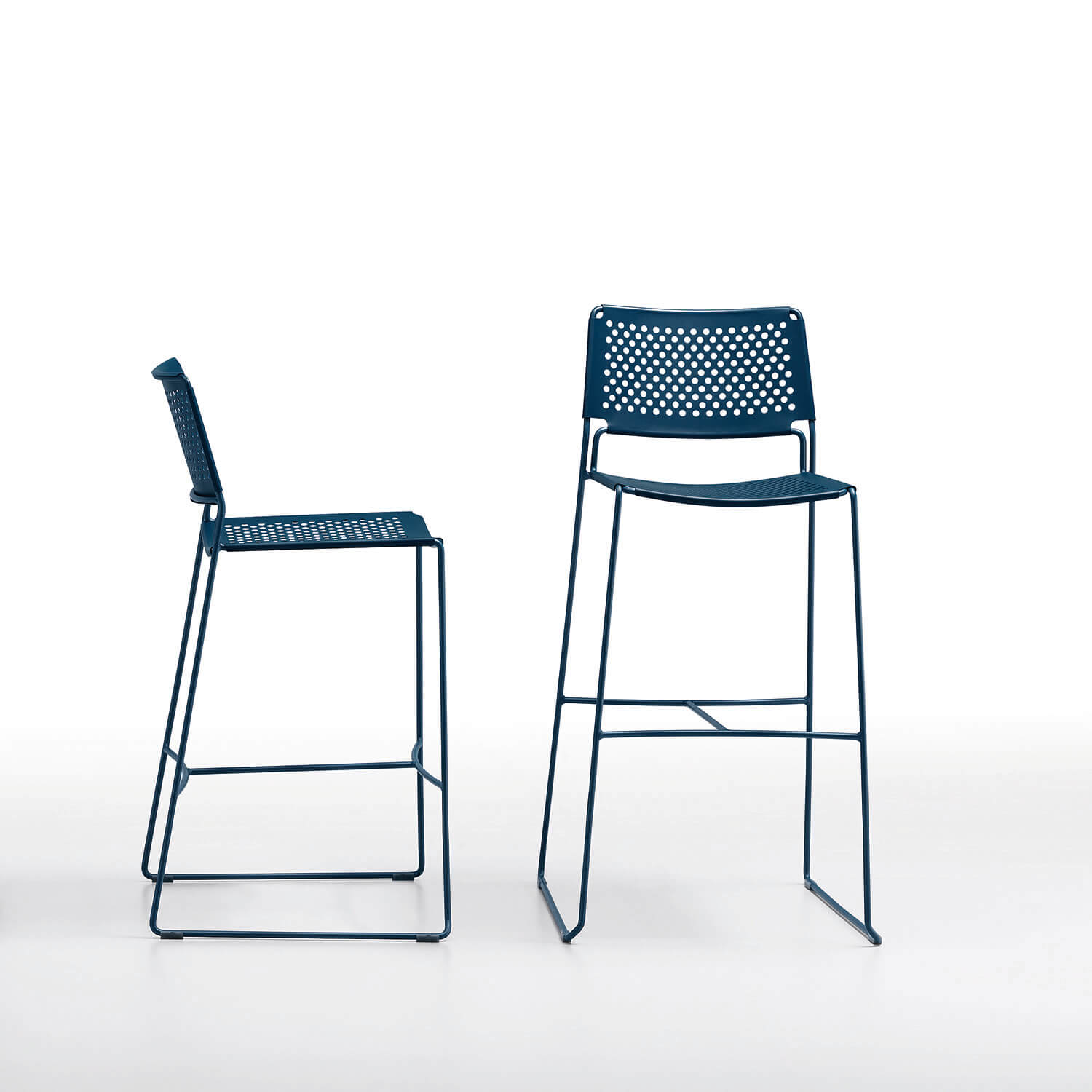 Slim Stool Metal