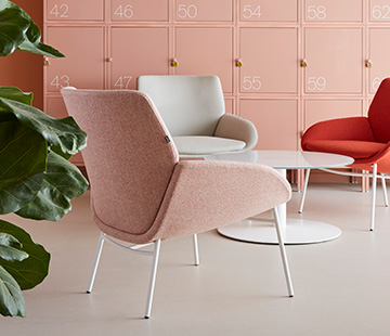 Noom chair by Actiu