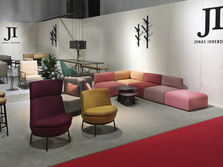 Jonas Ihreborn at Salone del Mobile 2018